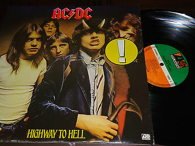 """AC/DC – Highway To Hell, LP 12"""" GERMANY 1978"""