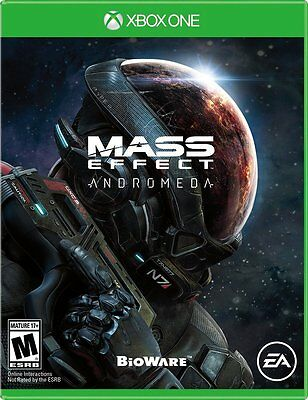 Mass Effect: Andromeda Video Game for Microsoft Xbox One, 2017, Brand New