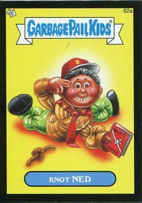 Garbage Pail Kids Mini Cards 2013 Black Parallel Base Card 62a Knot NED