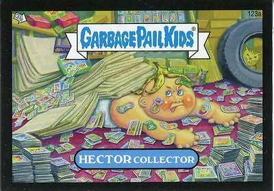 Garbage Pail Kids Mini Cards 2013 Black Parallel Base Card 123a HECTOR Collector