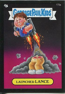 Garbage Pail Kids Mini Cards 2013 Black Parallel Base Card 175a Launched LANCE