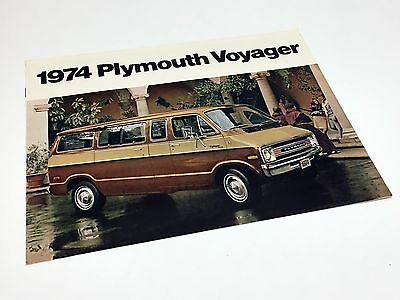 1974 Plymouth Voyager Brochure