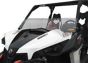 Quadboss Half Windshield #TUCK100-0023 Can-Am Maverick 1000