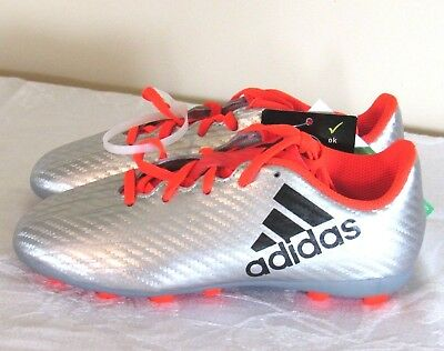 b94461f72 ... purechaos fg cleats  adidas x16.4 fg silver orange solar red soccer  shoes cleats youth 4 new nib