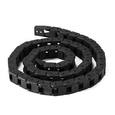 10x10mm 7x7mm 1M Nylon Cable Drag Chain Wire Carrier for CNC Router 3D Printer