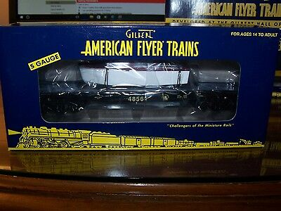 American Flyer S Scale 6-48561 Jersey Central Flatcar with Boat NIB