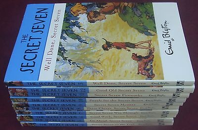 Enid Blyton Secret Seven Series Bulk Set x10 Paperback Books