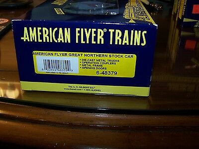 American Flyer S Scale 6-48379 Great Northern Stock Car NIB