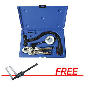 Disc Rotor and Ball Joint Gauge Set w/FREE Electronic Digital Rotor Gauge