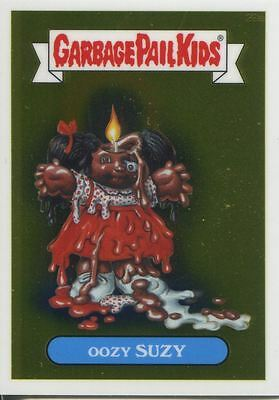 Garbage Pail Kids Chrome Series 1 Base Card 28a OOZY SUZY