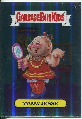 Garbage Pail Kids Chrome Series 1 Refractor Base Card 20b DRESSY JESSE