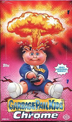 Garbage Pail Kids Chrome Series 1 Factory Sealed Hobby Box 24 Packs