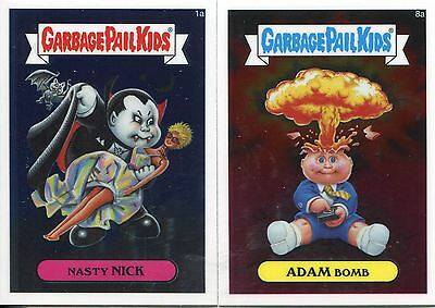 Garbage Pail Kids Chrome Series 1 Complete 82 Card Base Set