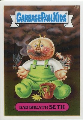 Garbage Pail Kids Chrome Series 2 Base Card 70a BAD BREATH SETH