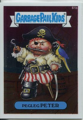 Garbage Pail Kids Chrome Series 2 Base Card 61b PEGLEG PETER