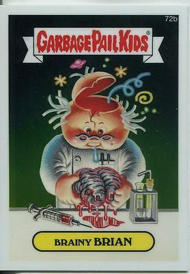 Garbage Pail Kids Chrome Series 2 Base Card 72b BRAINY BRIAN