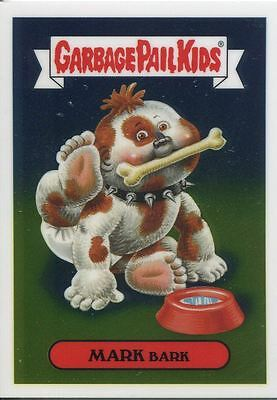 Garbage Pail Kids Chrome Series 2 Base Card 74a MARK BARK