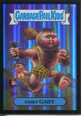 Garbage Pail Kids Chrome Series 2 Black Refractor Parallel 55a HAIRY GARY