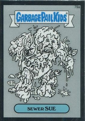 Garbage Pail Kids Chrome Series 2 Pencil Art Concept 79a SEWER SUE