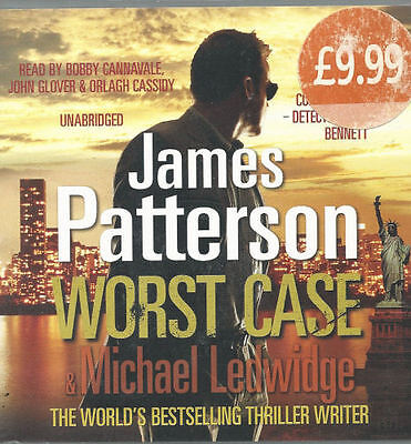 Audio book - Worst Case by James Patterson   -  CD