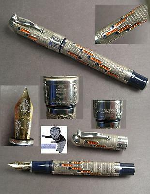 # Montegrappa 88th Anniversary Limited Edition Füllhalter in 925 Silber #