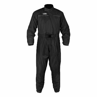 Oxford Motorcycle Bike Rainseal Over Suit W/ Reflective Tubes Black Size S - 6XL