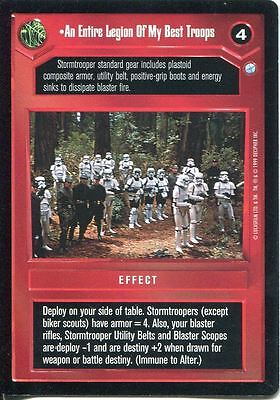 Star Wars CCG Endor Card An Entire Legion Of My Best Troops