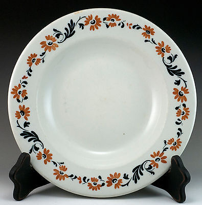 "Vintage Restaurant Ware Scammell's Trenton China 9.25"" Service Plate c. 1935-40"