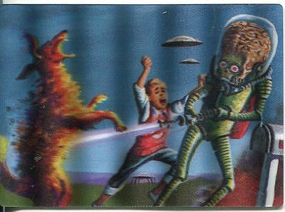 Mars Attacks Heritage Magic Of 3-Dimension Chase Card #5