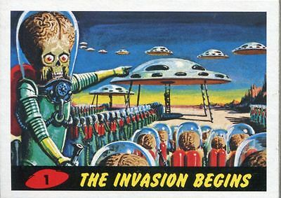 Mars Attacks Heritage Complete 80 Card Base Set [Inc 2 Chase Sets]