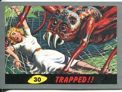 Mars Attacks Heritage Silver Parallel Base Card #30    Trapped!!