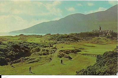 NEWCASTLE, Royal Co Down Golf Course, Down old postcard