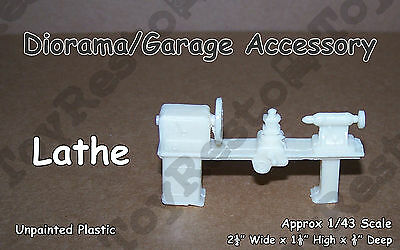 Lathe for your Little Shop - Diorama/Garage Equipment Approx 1:43 Scale