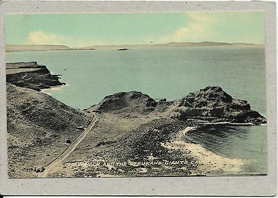 GIANT'S CAUSEWAY, Cliff Walk and The Steukans, Antrim old postcard