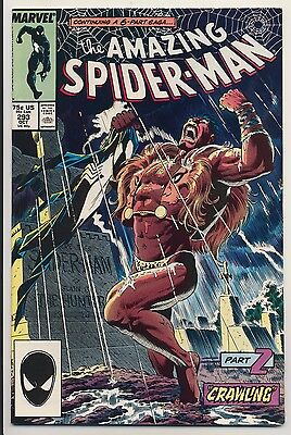 Amazing Spider-Man #293 (1987) Near Mint Minus (9.2) Marvel Crawling