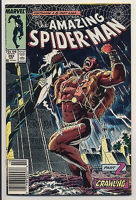 Amazing Spider-Man #293 (1987) Very Fine Minus (7.5) Marvel Crawling