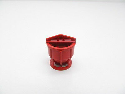 Crane Cement Bucket / Diecast Metal in Red - 1:87 Scale