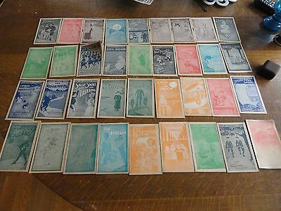 36 (A Complete Set) Of Early 1900's FAULTLESS STARCH Kids Story Booklets