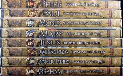 The Footprints of God Series Set of 8 NEW DVDs Story of Salvation, Stephen Ray