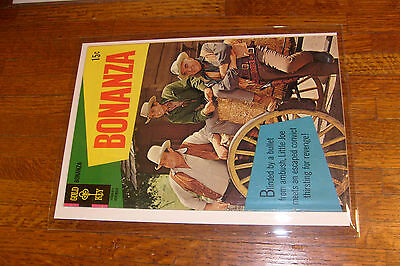 "vintage BONANZA comic: #30, ""VERYGOOD"" condition, GOLD KEY, FAMILY COVER"