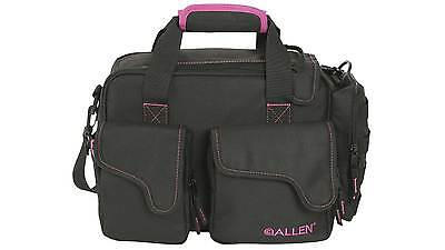 NEW Ladies ALLEN DOLORES COMPACT RANGE BAG BLACK W/ORCHID ACCENT 18301