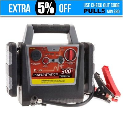 Portable Car Jump Starter rechargeable 300a power station/air compressor/Battery