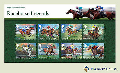 2017 Racehorse Legends Stamps in Presentation Pack PP511 (no.539) - Royal Mail