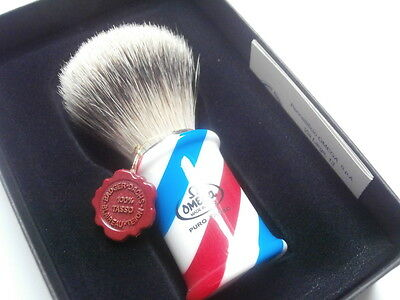 TOP Rasierpinsel OMEGA Dachs Best badger Dachs Shaving brush Barber Pole !!