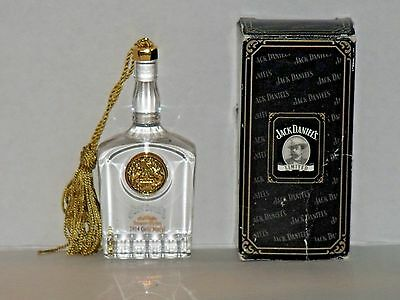 JACK DANIEL'S 1914 Gold Medal Bottle Ornament Tennessee Whiskey Collectible