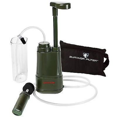 Survivor Filter PRO 0.01 Micron Water Purifier - Filters up to 100,000 Litres