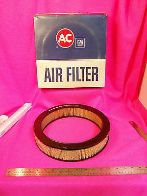 NOS A/C Air Filter 70 71 72 73 74 Corvette 350-454 Camaro Chevelle 1970 1971