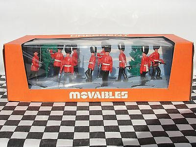 Crescent Movables 1960's Grenadiers Set No. 901  New Old Stock Boxed