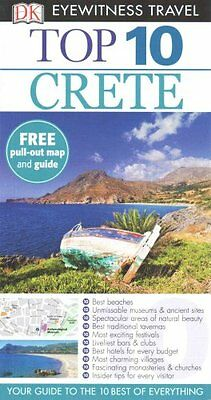 Dk Eyewitness Top 10 Travel Guide: Crete by Robin Gauldie 9780241007495