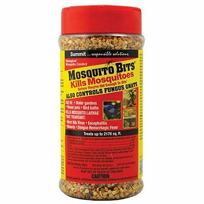 Summit Pond Mosquito Bits 8 Ozk Kill Larvae Mosquitoes. Free Shipping In The Usa